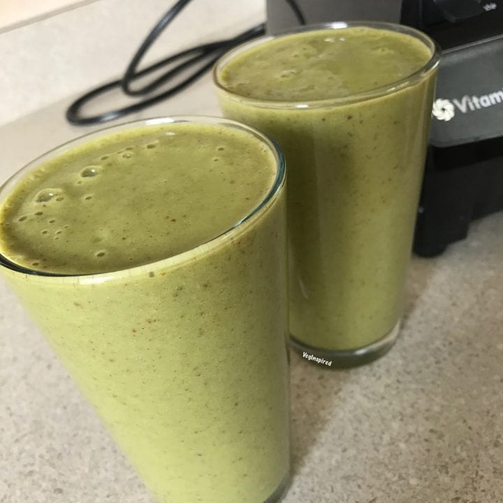Irish Cream Inspired Green Smoothie